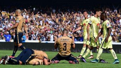 Pumas cayó 3-1 ante América pero avanzó