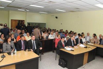 Expresidentes de la Cajubi,sentenciados a 14 años de prisión