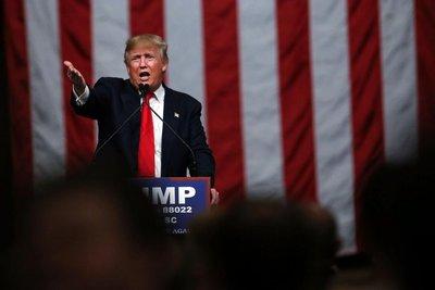 Trump disfruta su victoria en Carolina del Sur
