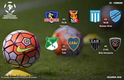 Cuatro partidos con protagonistas de renombre en este miércoles de Copa