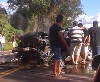 Grave accidente en ruta Luque