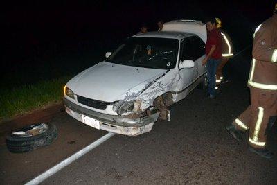 ca0e6732e3a Triple choque sobre la ruta I, en Paraguarí