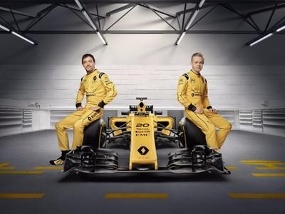 Renault F1 retorna al amarillo