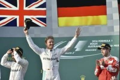 HOY / Nico Rosberg se lleva el GP de Australia