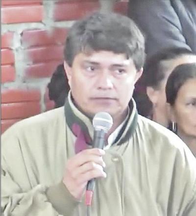 Líder campesino activó por la libertad de secuestradores