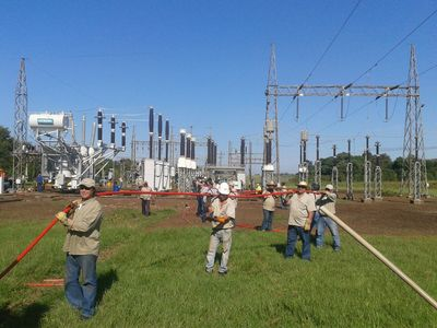 ANDE normaliza suministro de energía eléctrica en Itapuá