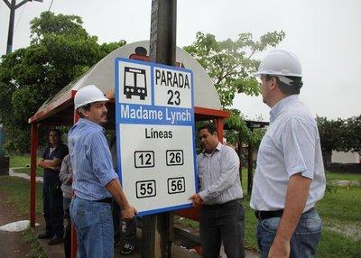 Implementan el plan de paradas obligatorias para buses