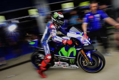 Jorge Lorenzo, el más rápido en ensayos del GP de España