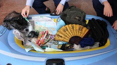 Desempleado chino llega a isla taiwanesa en bote de goma en busca de libertad