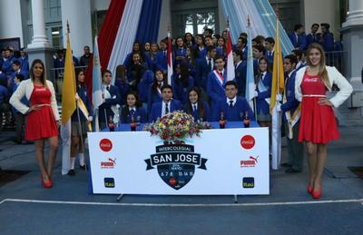 Presentan intercolegial deportivo del San José