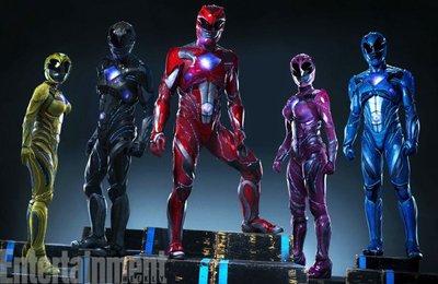 Revelan a los nuevos Power Rangers