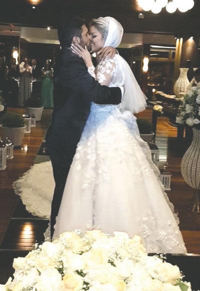 El lujoso casamiento de la modelo Egny Eckert