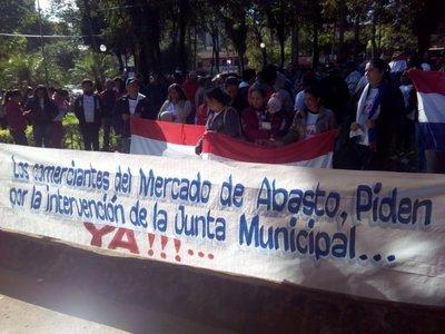 Protestan contra Junta Municipal en CDE
