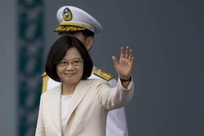 Asumió la primera mujer presidente de Taiwán