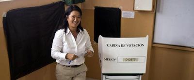 Fujimori lidera el sondeo – ADN Paraguayo