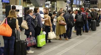 El arranque de la huelga ferroviaria en Francia acorrala al Gobierno
