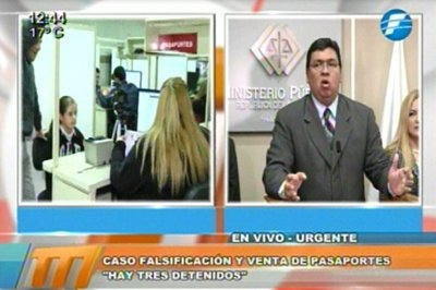 Gobierno garantiza seguridad para Pérez Corradi