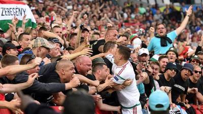 Hungría vence a Austria por el grupo F de la Eurocopa