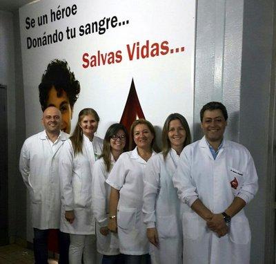 Más servicios en banco de sangre del Hospital Nacional