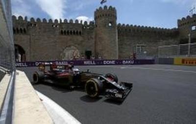 Los entrenamientos en Bakú son para Lewis