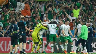 Irlanda triunfó y se mete a octavos en la Eurocopa