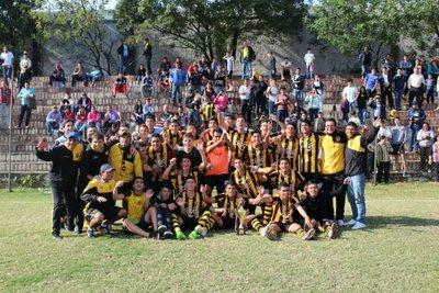 Guaraní, tres veces campeón