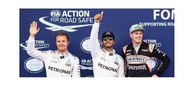 Hamilton logra la pole en Austria