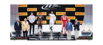 Hamilton alcanzar triunfo en Gran Premio de Austria