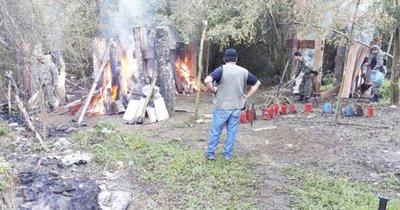 Desmantelan oficina antidrogas a pedido de intendenta de Puentesiño