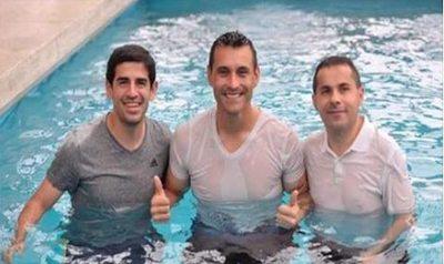 Justo Villar, bautizado por sus compas de club