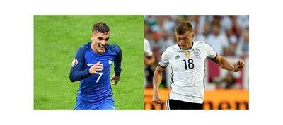 Francia y Alemania juegan por el último pase a la final