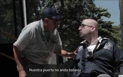 Sumarian a empresas por maltrato a pasajero con discapacidad