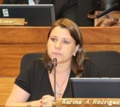 Fiscalía acusa y pide juicio oral para ex diputada Karina Rodríguez