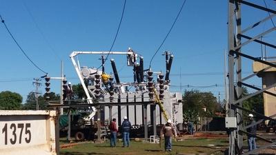 Mayor potencia de energía beneficia a San Lorenzo, J. A. Saldívar y Capiatá