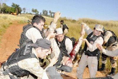 Dantesco enfrentamiento en colonia de Curuguaty