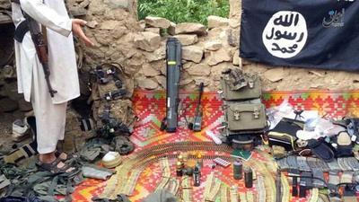 ISIS interceptó un cargamento de armas de Estados Unidos