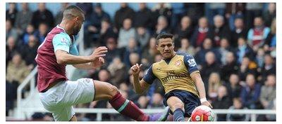 El West Ham y el Arsenal igualan 3-3 en un partidazo