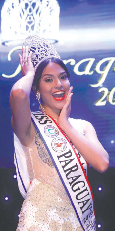 Miss Paraguay le ganó a las Olimpiadas
