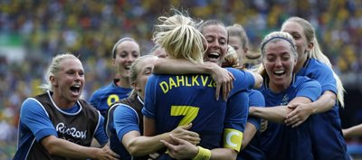 Suecia también propina un Maracanazo y va por el oro