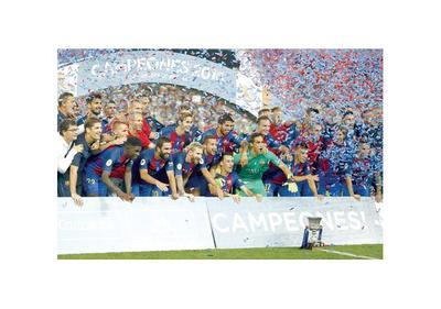 El Barça, nuevamente, se consagra campeón