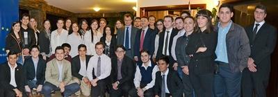 Los 62 paraguayos becados por Erasmus irán a universidades de 9 países europeos