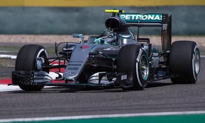 Rosberg ganó a Hamilton en libres del GP de Bélgica