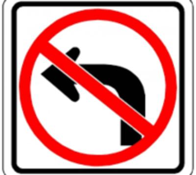 Anuncian la eliminación de giro a la izquierda en cuatro lugares