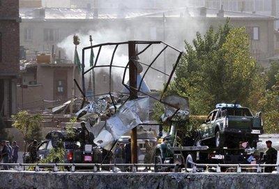 Explosión en Kabul deja varios heridos