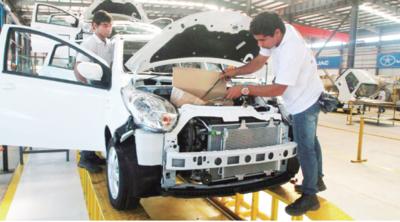 Peña afirma que la producción nacional es prioridad del Gobierno