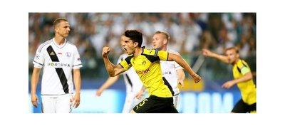 Dortmund regresa a la Champions con goleada ante el Legia