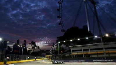 Rosberg restaura la 'normalidad' en Libres 2 de Singapur