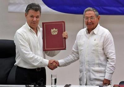 FARC muestran total apoyo a acuerdo de paz