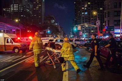 """Consideran como """"acto terrorista"""" el ataque con explosivo en Nueva York"""