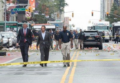 Cinco detenidos en investigación de explosión en Nueva York